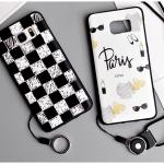 เคส Samsung Note 5 ซิลิโคน soft case สกรีนลายการ์ตูนน่ารักๆ พร้อมสายคล้อง ราคาถูก