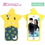 เคส iphone 5 / 5s ZCGYLQ เคสซิลิโคน 3D ดาวดวงใหญ่ น้องแกะและตัวตลก น่ารักๆ ราคาส่ง ขายถูกสุดๆ