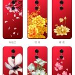 เคส Xiaomi Redmi 5 Plus ซิลิโคนลายดอกไม้ พร้อมสายล้องสวยมากๆ ราคาถูก