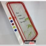 เคส Mega 6.3 case samsung mega 6.3 ขอบเคส Bumper ซิลิโคน TPU ใสตัดสีสวยๆ เคสมือถือขายปลีกขายส่งราคาถูก