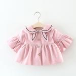 เสื้อ สีชมพู แพ็ค 4 ชุด ไซส์ 70-80-90-100