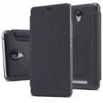 Nillkin Sparkle leather case for Xiaomi Redmi Note 2 / Redmi Note2 Prime - สีดำ