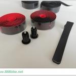 ผ้าพันแฮนด์ Pearl handlebar tap twintone,VLT-3089HD2 มีสีดำแดงและดำ/ดำ