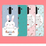 เคส Huawei Mate 9 ซิลิโคน soft case สกรีนลายการ์ตูนพร้อมแหวนและสายคล้อง (รูปแบบแล้วแต่ร้านจีนแถมมา) น่ารักมาก ราคาถูก