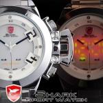 นาฬิกาข้อมือชายแฟชั่น Shank Sport watch SH028
