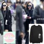เสื้อแขนยาว Hitz 2014 CL 2NE1 สีดำ