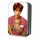 ชุดรูปพร้อมกล่องเหล็ก #EXO chanyeol L'officiel Hommes