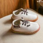 รองเท้าเด็กแฟชั่น สีครีม แพ็ค 5 คู่ ไซส์ 26-27-28-29-30