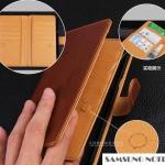 Case Samsung Galaxy Note 5 แบบฝาพับหนังเทียมสีพื้นสีมาตรฐานที่ควรมีติดไว้ ราคาส่ง ราคาถูก