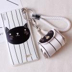 เคส OPPO R7 Lite / R7 พลาสติก TPU ลายแมวสุดกวน พร้อมสายคล้องมือและกระเป๋าเก็บสายหูฟัง ราคาถูก