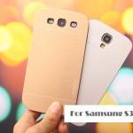 เคส s3 case Samsung Galaxy s3 motomo เคสโลหะเงาๆ มีลายเส้นโลหะสวยๆ ด้านในเป็นพลาสติก ราคาส่ง ขายถูกสุดๆ