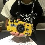 เคส Huawei G7 Plus ซิลิโคนรูปกล้องถ่ายรูปสุดเท่ ตรงเลนส์สามารถยืดออกมาตั้งได้ พร้อมสายคล้อง ราคาถูก