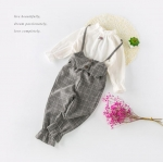เสื้อ+เอี๊ยมกางเกง แพ็ค 5 ชุด ไซส์ 100-110-120-130-140