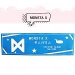 แบนเนอร์กระดาษ MONSTA X