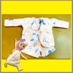 ชุดเซ็ตเสื้อสูท กางเกงขาสั้น spandexเนื้อนิ่ม ลายดอกไม้ สวยน่ารักมากคะ Disney Animators' Collection Doll - 16'' (พร้อมส่ง)
