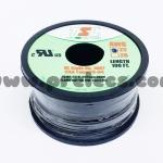 สายไฟTSL #22AWG 100FT(30m) สีดำ
