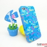 case iphone 4s 4 ลายภาพวาดสีน้ำสวยๆ Jimmy comic matte painted