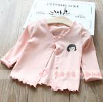 เสื้อ สีชมพู แพ็ค 5 ชุด ไซส์ 5-7-9-11-13