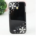เคส S4 Case Samsung Galaxy S4 i9500 เคสประดับเพชรคริสตัลรูปดอกไม้สวยๆ น่ารักๆ