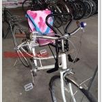 เก้าอี้เสริมเด็ก วางด้านหน้าจักรยาน