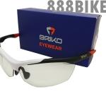 แว่นตา BRIKO TRIDENT PHOTO (Black White Red) Photochromic Lens (ปรับแสงอัตโนมัติ)