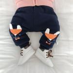 กางเกง สีกรม (ด้านในมีขนอ่อนๆ) แพ็ค 6 ชุด ไซส์ 66-73-80-80-90-90