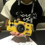 เคส Huawei GR5 ซิลิโคนรูปกล้องถ่ายรูปสุดเท่ ตรงเลนส์สามารถยืดออกมาตั้งได้ พร้อมสายคล้อง ราคาถูก