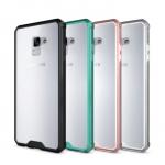 เคส Samsung A8 2018 พลาสติกโปร่งใส Crystal Clear ขอบปกป้องสวยงาม ราคาถูก