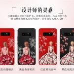 เคส Samsung Note 8 ซิลิโคนลายผู้หญิง พร้อมสายคล้องมือสวยงามมาก ราคาถูก (แหวนแล้วแต่ร้านจีนแถมหรือไม่)