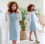 เสื้อคลุม สีขาว แพ็ค 3 ชุด ไซส์ 140-150-160 (เลือกไซต์ได้)