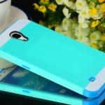 Case Samsung Galaxy Mega 6.3 NX CASE เคสซิลิโคนสลับสีแนวๆ หุ้มด้วยแผ่นหลังพลาสติกตัดสีสวยๆ เคสมือถือขายปลีกขายส่งราคาถูก