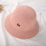 หมวกปีกสีชมพูแต่งตัว M