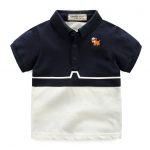เสื้อ สีกรม แพ็ค 5 ชุด ไซส์ 100-110-120-130-140