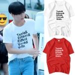 เสื้อยืด (T-Shirt) Tesla& แบบ Taemin