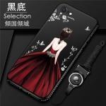 เคส iPhone 7 / iPhone 8 ซิลิโคนลายผู้หญิงแสนสวยมากๆ ราคาถูก (สีของสายคล้องแล้วแต่ร้านจีนแถมมา)