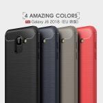 เคส Samsung J6 (2018) ซิลิโคน TPU ยืดหยุ่นได้ดีเรียบ ดูดี ราคาถูก
