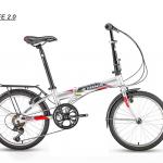 """จักรยานพับได้ TRINX LIFE 2.0 STEEL FOLDING BIKE 20"""" 7สปีด"""