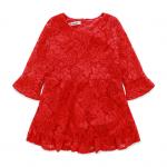 ชุดกระโปรง สีแดง แพ็ค 5 ชุด ไซส์ 90-100-110-120-130 (เลือกไซส์ได้)