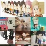 EXO Paper Toy (ตุ๊กตากระดาษ)