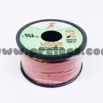 สายไฟTSL #20AWG 100FT(30m) สีแดง