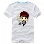 เสื้อยืดการ์ตูน BTS JIN 2014 สีขาว