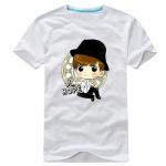 เสื้อยืดการ์ตูน BTS J HOPE 2014 สีขาว