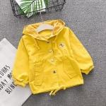 เสื้อแจ็คเก็ต สีเหลือง แพ็ค 4 ชุด ไซส์ 70-80-90-100