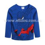 เสื้อ สีน้ำเงิน แพ็ค 5 ชุด ไซส์ 100-110-120-130-140