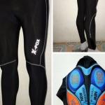 กางเกงขายาว X-FOX Cycling Jersey เป้าเจล 16D นุ่มและใส่สบาย(โปรดระบุไซต์ตรงหมายเหตุ)