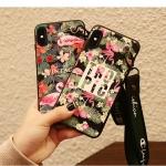 เคส iPhone X ซิลิโคนสกรีนลายฟลามิงโก สวยงามมาก ราคาถูก (แบบสั้นหรือยาวแล้วแต่ร้านจีนแถมมา)