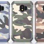 เคส Samsung J2 Pro 2018 เคสกันกระแทกแยกประกอบ 2 ชิ้น ด้านในเป็นซิลิโคนสีดำ ด้านนอกพลาสติกลายทหาร ลายพราง สวย แกร่ง ถึก ราคาถูก