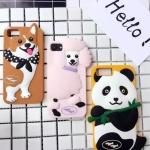 เคส iPhone 7 Plus (5.5 นิ้ว) ซิลิโคน soft case การ์ตูน 3 มิติ แสนน่ารัก ราคาถูก