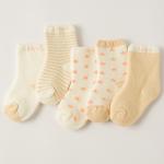 ถุงเท้าสั้น คละสี แพ็ค 10 คู่ ไซส์ อายุประมาณ 7-10 ปี