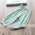กางเกง สีเขียว แพ็ค 5 ชุด ไซส์ 100-110-120-130-140